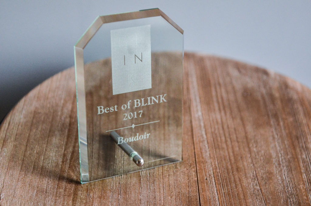 BLINK Award Rhonisha Franklin