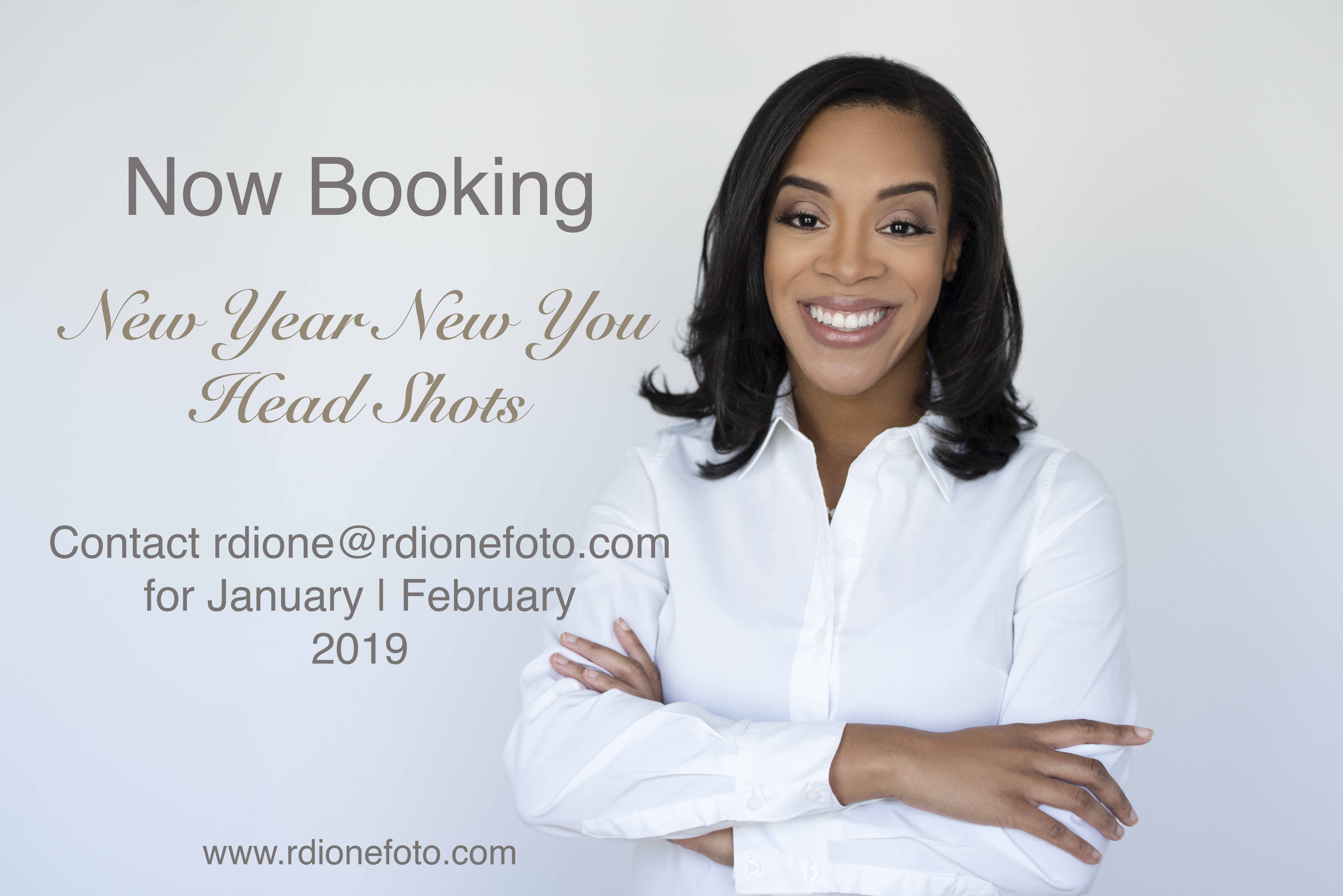 2019 Head Shot Session with R. Dione Foto